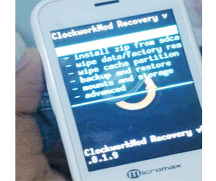 Hard Reset Micromax vdeo 2