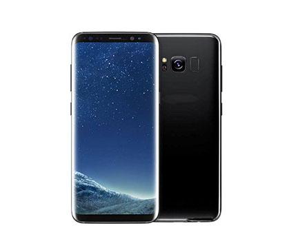 Samsung Galaxy S8 (Black, Silver)