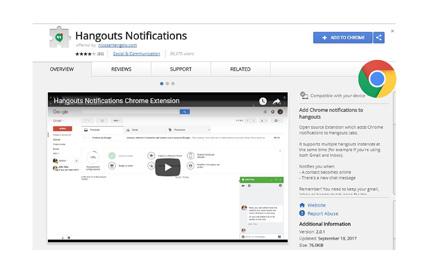 Google HangoutsExtension
