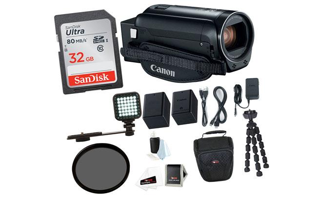Caméra vidéo caméscope Vlogging Canon VIXIA HF R800
