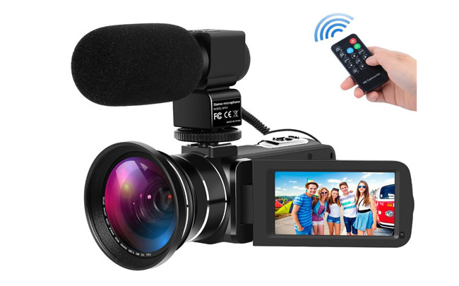 Rainbowday Digital Camcorders Vlogging Camera