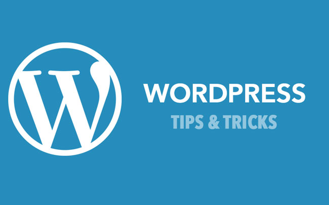 WordPress Tips and Trick