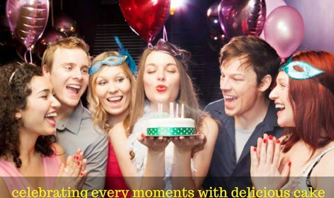 Celebrating Moments with Delicious Cake