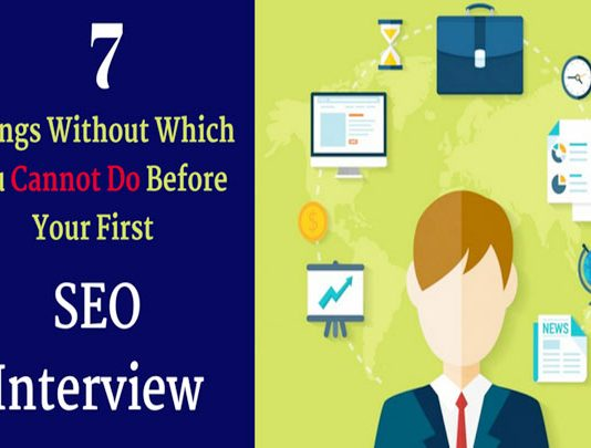 First SEO Interview