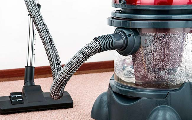 Washing Up and Vacuuming