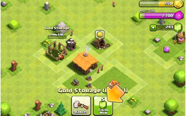 Screen Shot 1 For Clash of Clans