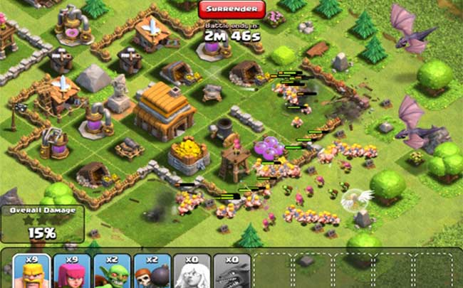 Screen Shot 2 For Clash of Clans