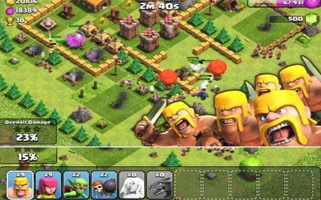 Screen Shot 3 For Clash of Clans