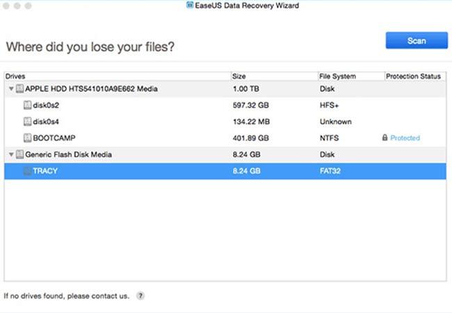 EaseUS Data Recovery