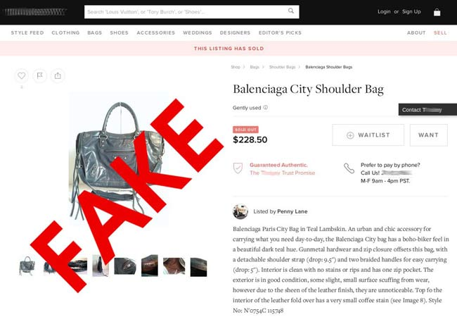 Identify Fake Shopping Sites