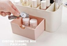 Custom Cosmetic Box Packaging