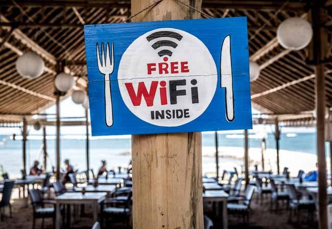 Using a Public Wi-Fi Network