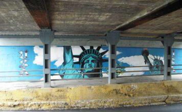 Wallpaper Mural Installation