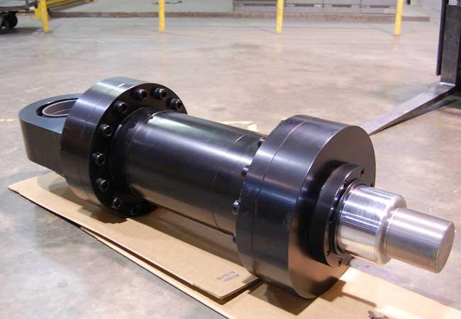 rebuilding a hydraulic cylinder