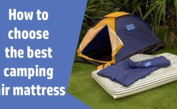 How to choose the best camping air mattress