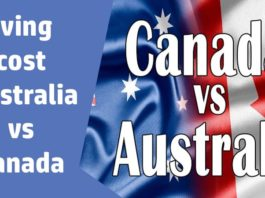 Living Cost Australia VS Canada
