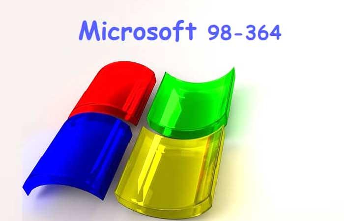 Microsoft 98-364 exam