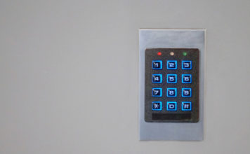 Outdoor Keypad Gate Lock for Security