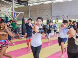 Muay Thai for fitness improve your Health