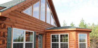 Custom Log Cabin and Log Home Kits