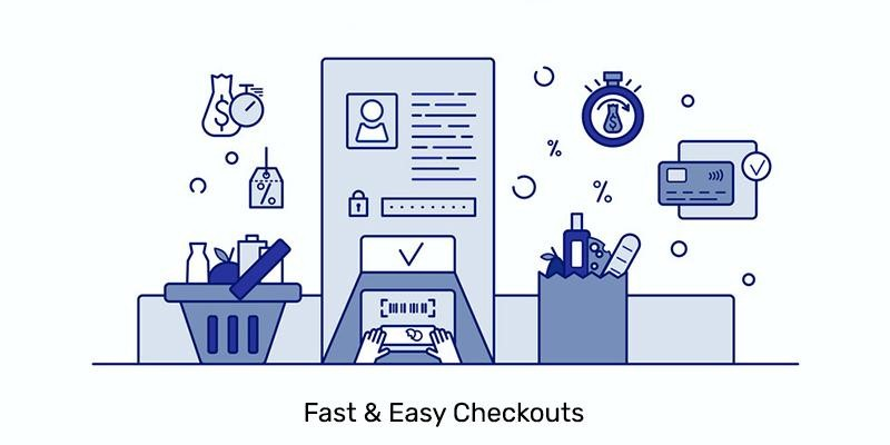 Fast Easy Checkouts