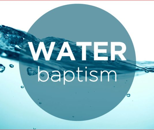 About Water Baptism